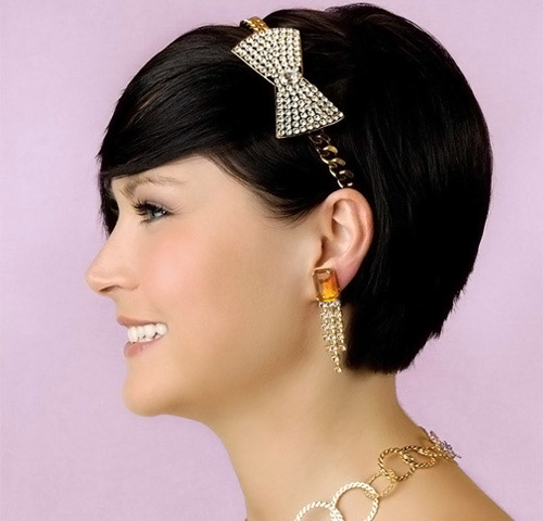 Ideas for wedding hairstyles for short hair