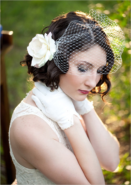 Wedding hairstyles short thick curly hair