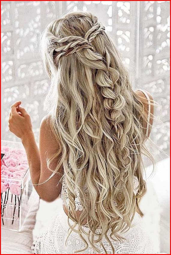 braided wedding hairstyles for long hair long wedding hair