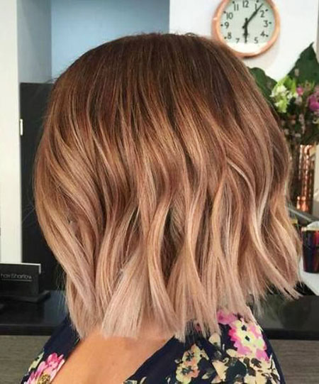 Hair Gold Rose Ombre