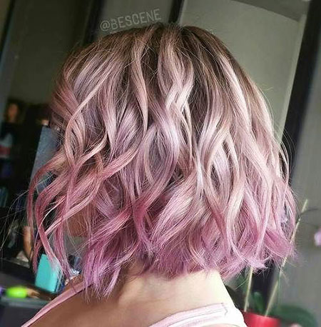 Pink Blonde Ombre, Hair Ombre Pink Pastel