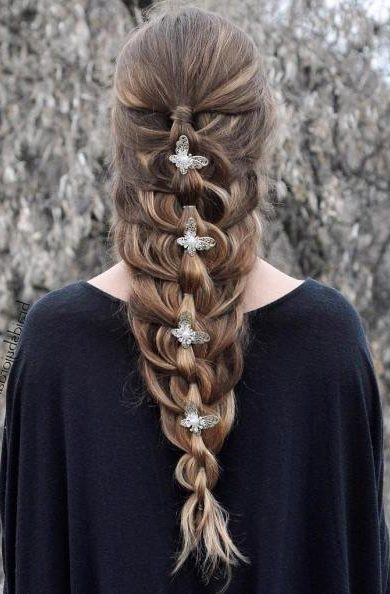 Mermaid Braid With Chain Braid