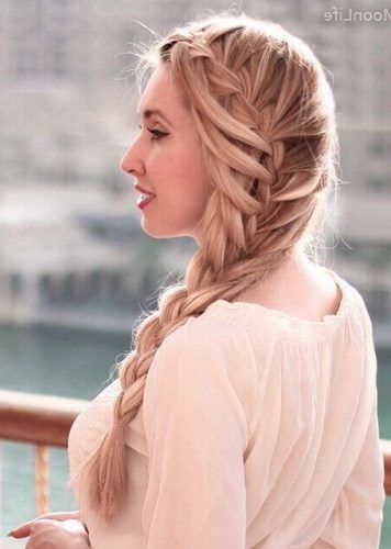 Side Mermaid Braid