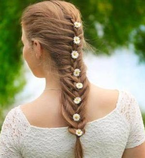 mermaid braid hair
